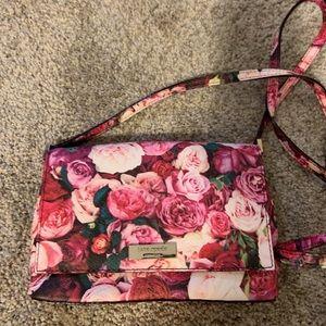 Kate spade flower crossbody purse